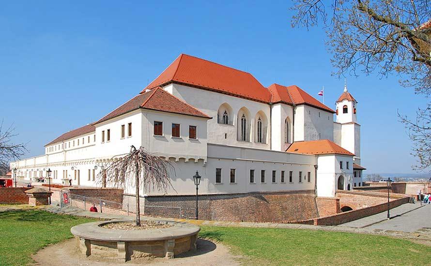 Festung Spielberg (Špilberk) in Brno